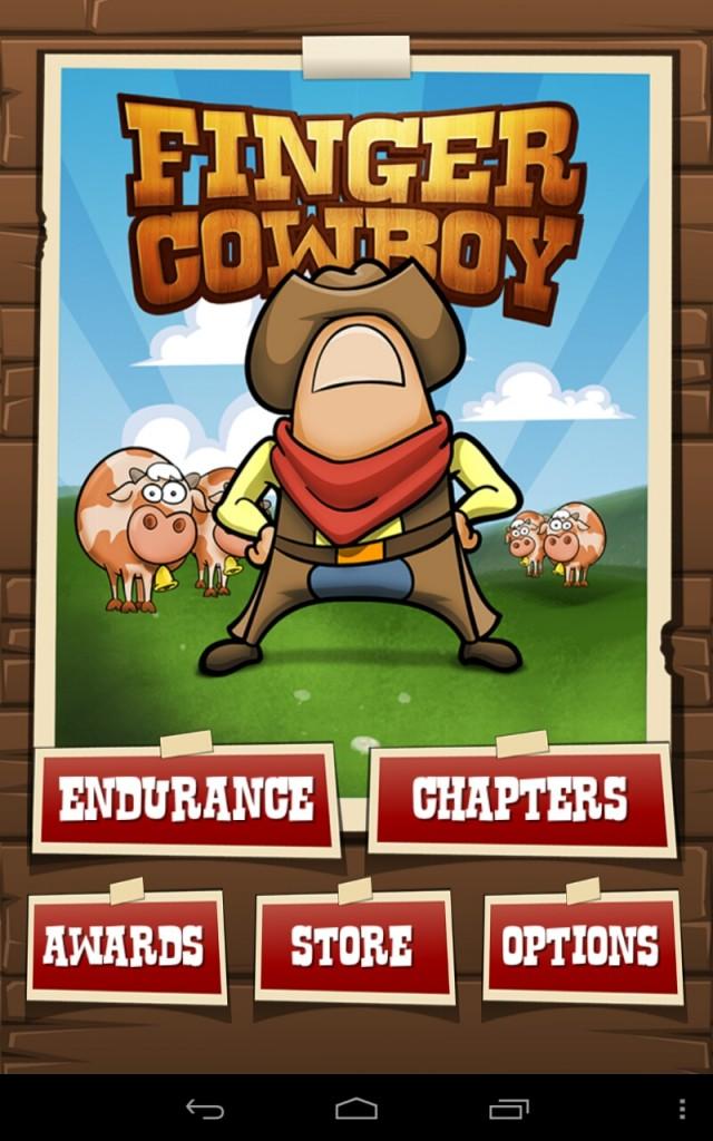 Finger Cowboy : Фермерская аркада для Samsung Galaxy