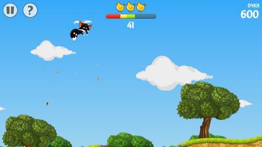 Flying Fox – летающий лис для Android