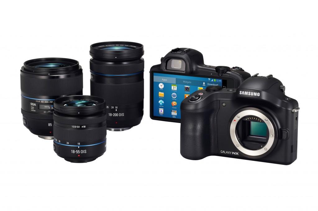 Камера Samsung Galaxy NX представлена официально