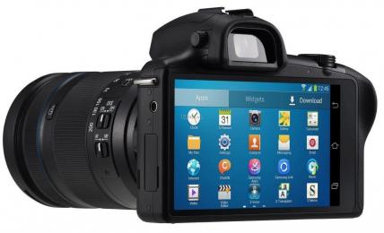 Samsung Galaxy NX - умная камера будущего