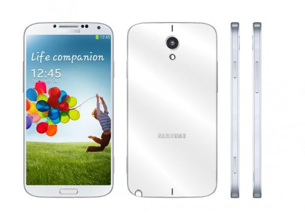 Новые слухи о Galaxy Note III - концеп будущей модели