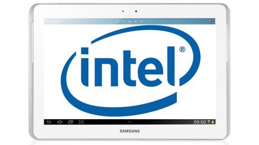Galaxy Tab 3 10.1 работает на чипе Intel