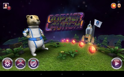 Gopher Launch - основное меню