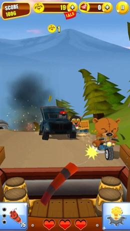 Grumpy Bears – атака плюшевых медведей для Android