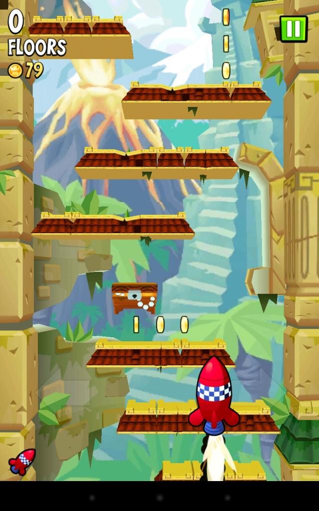 Icy Tower 2 Temple Jump - Эх, попрыгаем! Jumper для вашего Galaxy