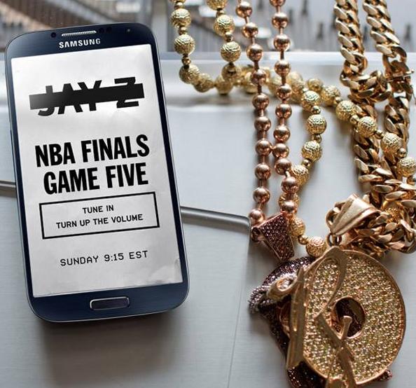 Samsung и Jay-Z объявили о своем сотрудничестве  - официальное тизирное изображение