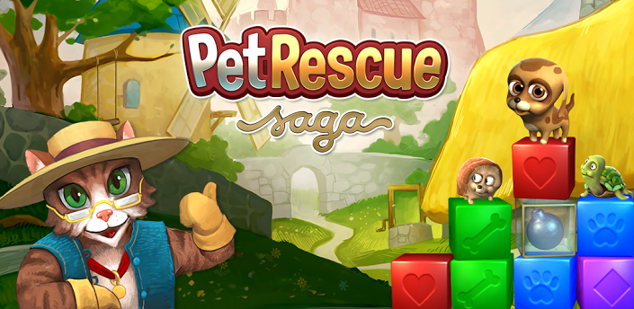 Pet Rescue Saga — увлекательная игра на Android