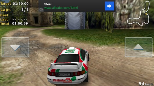 Pocket Rally – супер ралли для Android