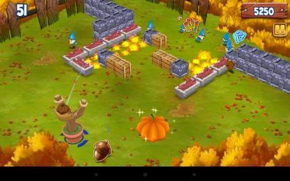 Psycho Gnomes - нападение психованных гномов. Аркадный тир для Samsung Galaxy