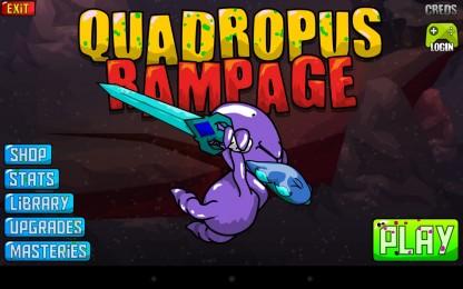 Quadropus Rampage - месть разъяренного осьминога