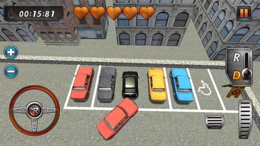 Real parking 3D – экстремальная парковка для Android