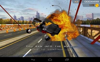 Redline Rush - сумасшедшие гонки по городским улицам на вашем Samsung Galaxy