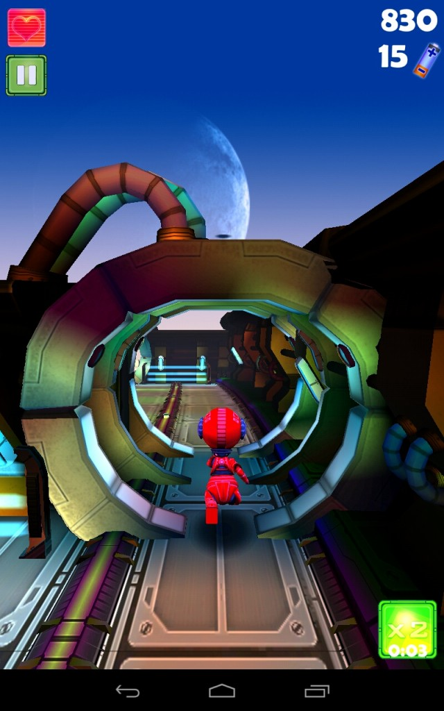 Robopop Trek - бегующий робот на вашем Galaxy