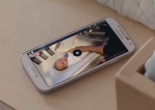Новая прикольная реклама Samsung Galaxy S4