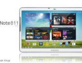 Концепт Samsung Galaxy Note 811 с 11.1-дюймовым Super AMOLED HD дисплеем