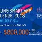 Главный конкурс года для Android разработчиков открыт: официальный старт Samsung Smart App Challenge 2013