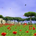 Sea of Poppies Free – поляна маков для Android