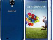 Samsung Galaxy S4 появился в синем корпусе