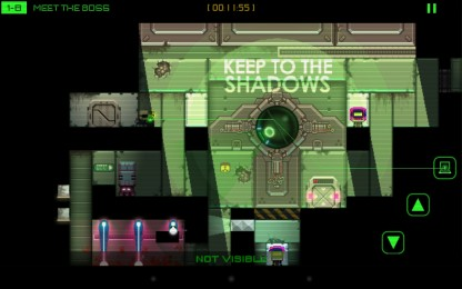 Stealth Bastard - стелс аркада для Samsung Galaxy