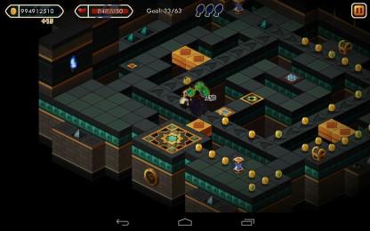 Treasure Tower Sprint - отправляйтесь на поиске сокровищ. Аркада для Samsung Galaxy