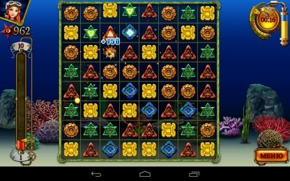 """Сокровища Арабеллы - классическая игра """"три в ряд"""" скачать для Samsung Galaxy"""