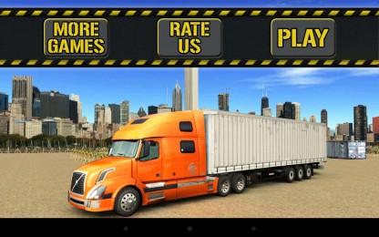 Trucker Parking 3D1