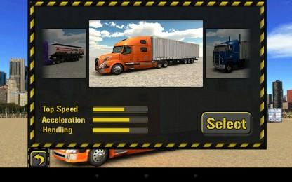 Trucker Parking 3D2