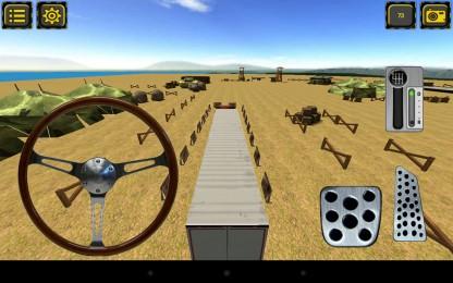 Trucker Parking 3D3