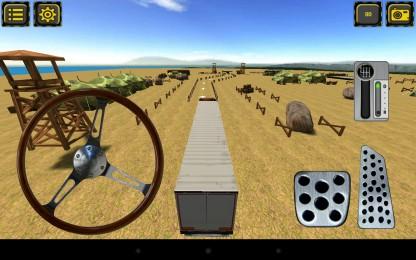 Trucker Parking 3D6