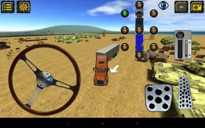 Trucker Parking 3D7