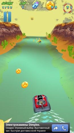 Turbo River Racing – гонка на водном смотоцикле для Android