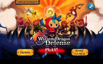 Wizard & Dragon Defense - великий герой в борьбе за драконов. Defender для Galaxy