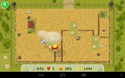 Yummy Little Planet - режем пшеничное поле. Классическая аркада для Samsung Galaxy