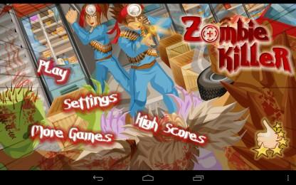 Zombie Killer HD - безжалостно расправляемся с зомби