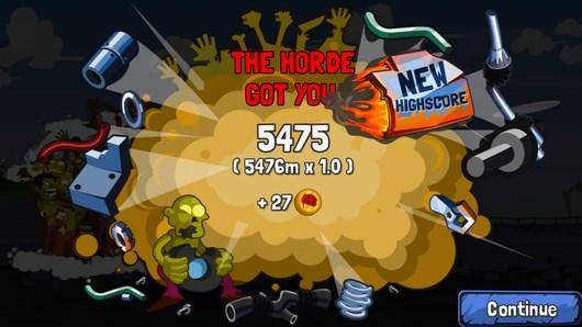 Zombie Road Trip – погоня зомби для Android