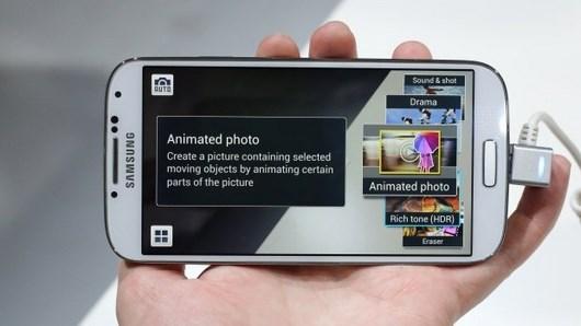 Создаем анимации на Samsung Galaxy S4