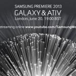 Устройства Galaxy на Samsung Premiere 2013
