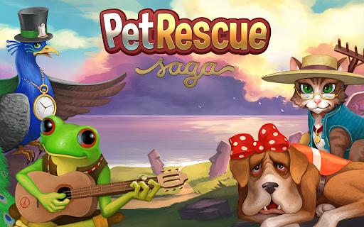 вступительный ролик Pet Rescue Saga на Android