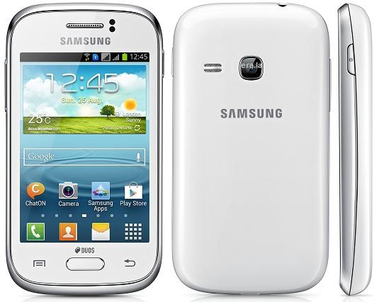 Смартфон Samsung Galaxy Young S6312. Белый цвет корпуса. Обзор устройства: технические характеристики, фото, видео