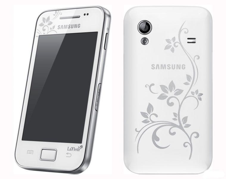 Смартфон Samsung Gаlаxy Ace II i8160 La Fleur с белым цветом корпуса. Обзор устройств Samsung Galaxy, фото, технические характеристики