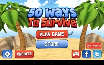 50 Ways to Survive - спасаем свою шкуру. Ранер для Samsung Galaxy