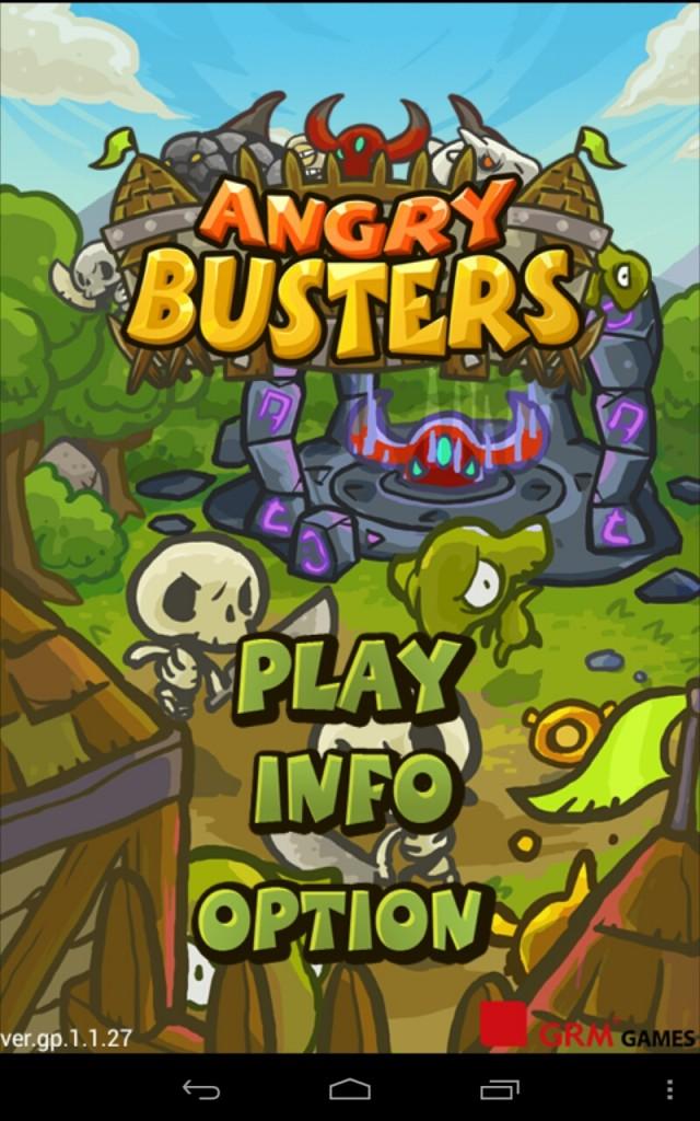 Angry Busters - сражение с монстрами на Samsung Galaxy
