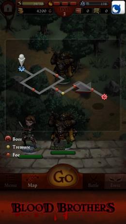 Blood Brothers – кровавый раскол для Android