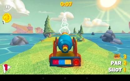 Boom Boom Hamster Golf - гольф поле и летающий хомяк. Аркада для Samsung Galaxy