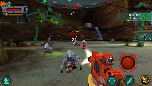 Bounty Hunter: Black Dawn – спаситель планеты для Android
