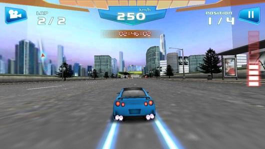 Быстрые гонки 3D – прожженный асфальт для Android