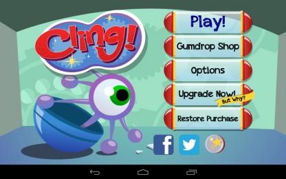 Cling! - выберитесь на свободу. Аркада для Samsung Galaxy