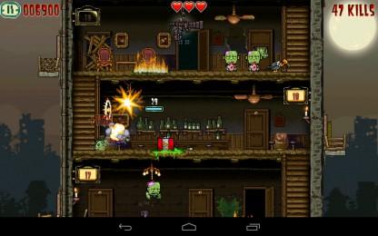 Crazy Bill: Zombie stars hotel - очисти отель от зомби на своем Samsung Galaxy