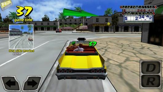 Crazy Taxi – бешеный таксист для Android
