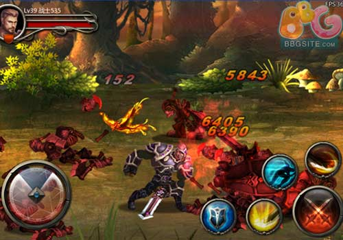 Excalibur - новая MMORPG для Android